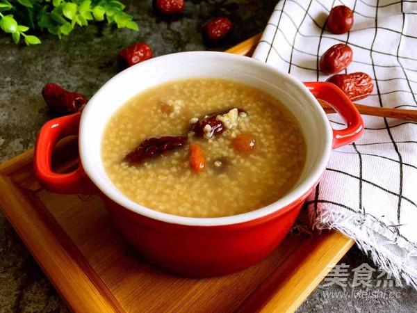 红枣桂圆小米粥怎么吃