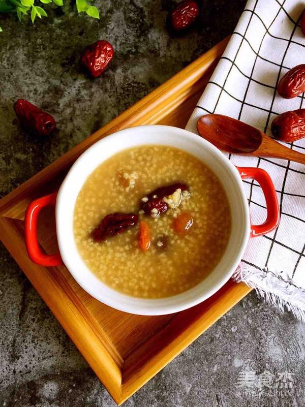 红枣桂圆小米粥怎么做