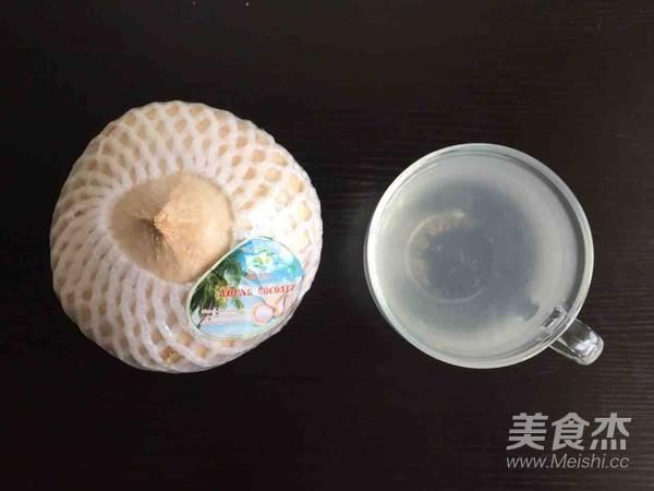 霸王超市 椰汁炖蛋的步骤