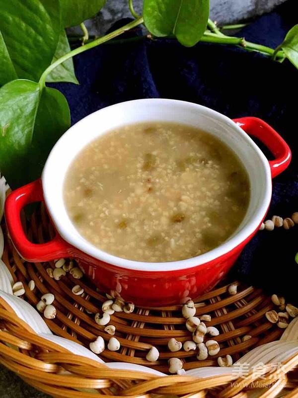 绿豆薏米粥怎么吃