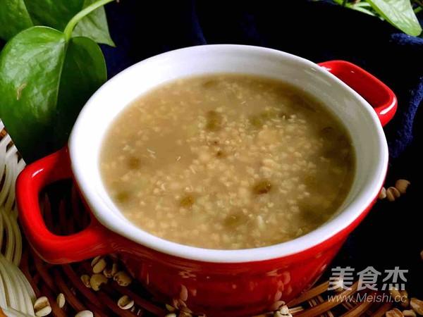 绿豆薏米粥的简单做法