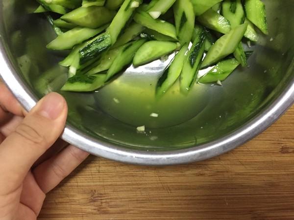 炝黄瓜怎么吃