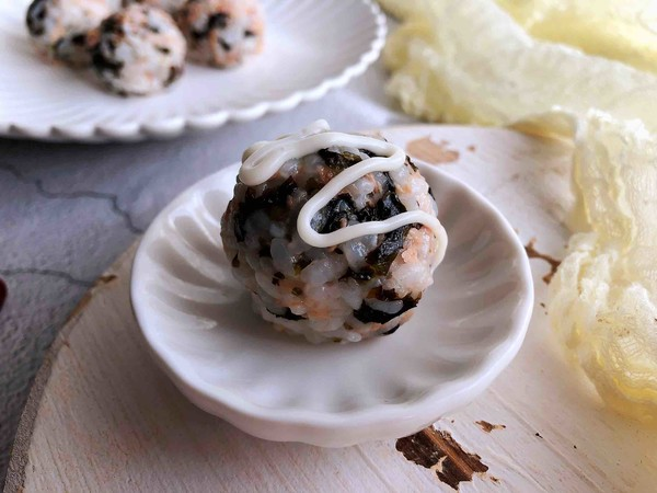 日式海苔饭团怎么炒