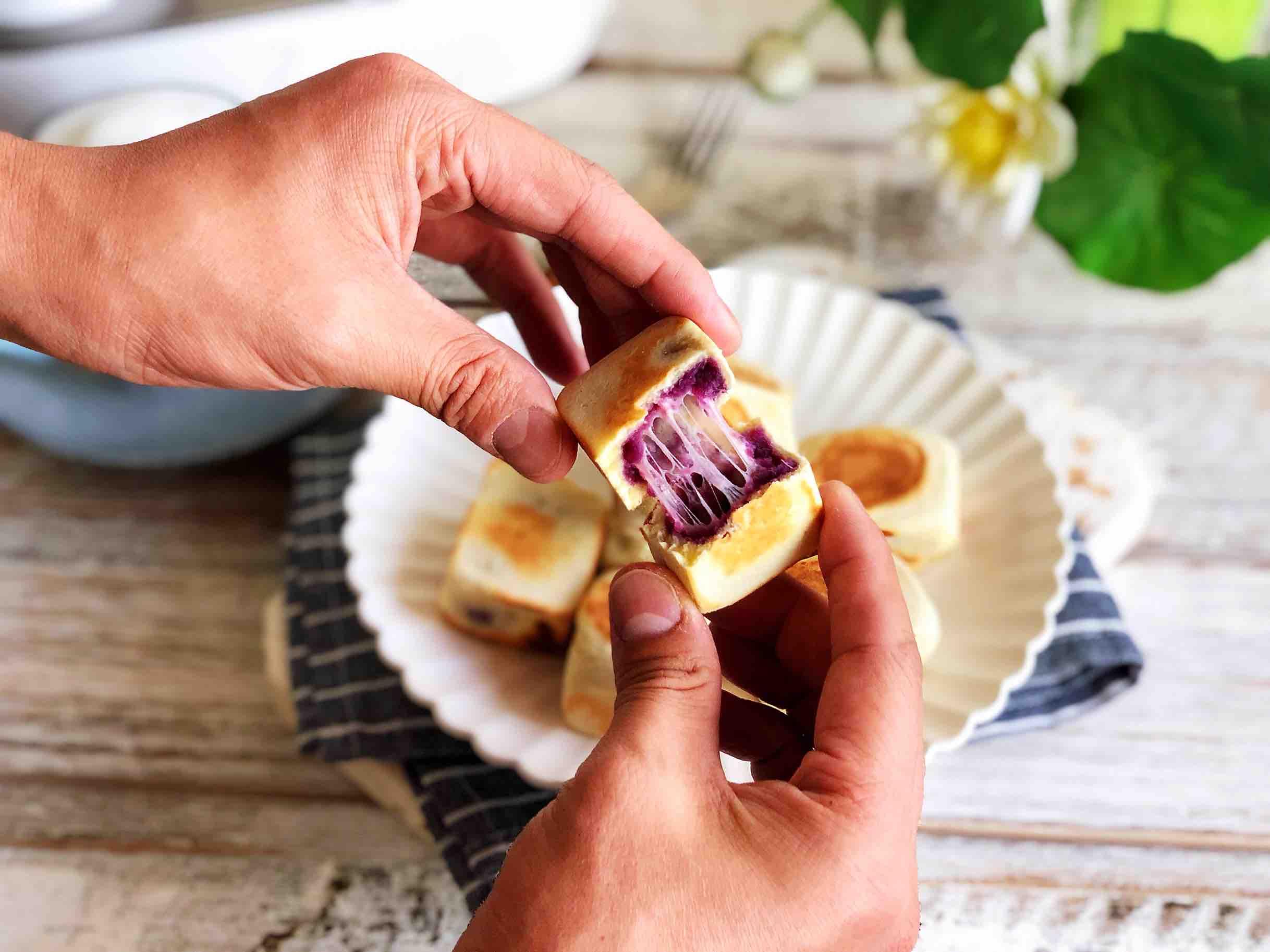 网红仙豆糕成品图