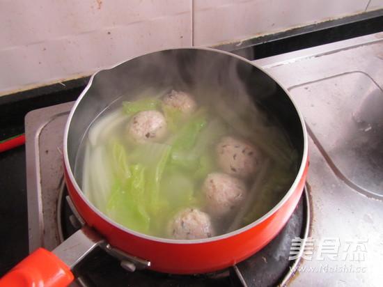 豆腐丸子汤的简单做法