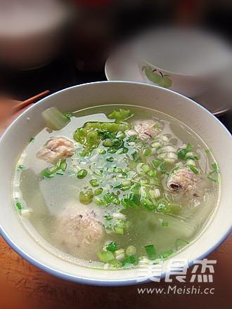 豆腐丸子汤怎么吃