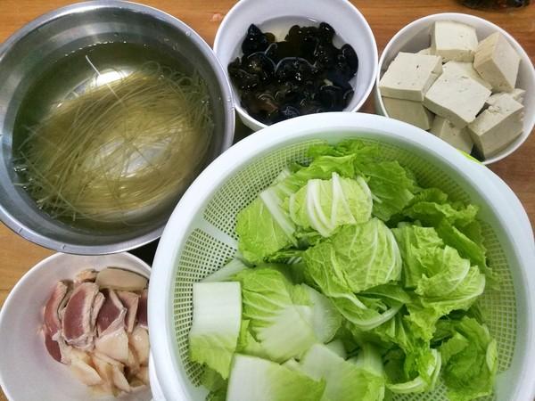 陕西版白菜猪肉豆腐炖粉条怎么煸