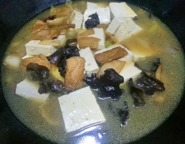 陕西版白菜猪肉豆腐炖粉条怎样煮
