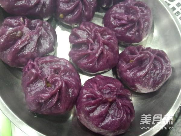 紫薯猪肉萝卜粉丝包怎么煮