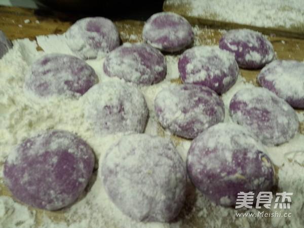 紫薯猪肉萝卜粉丝包怎么做