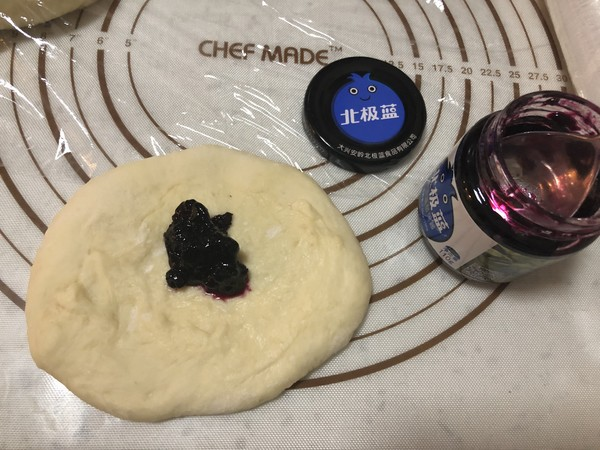 蓝莓花环包怎么煮