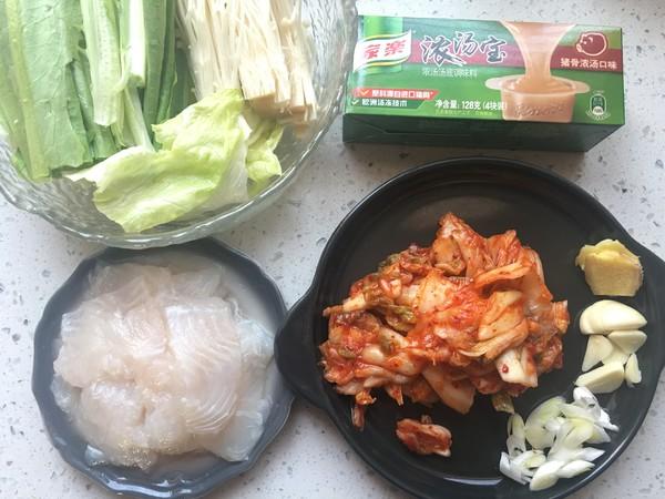 泡菜龙利鱼火锅的做法大全