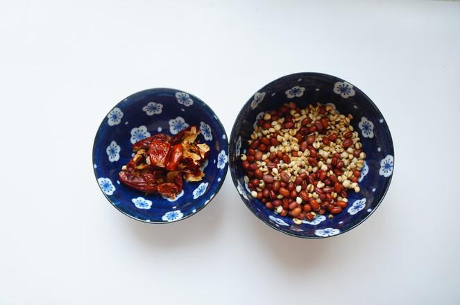 薏米红豆米糊的做法图解