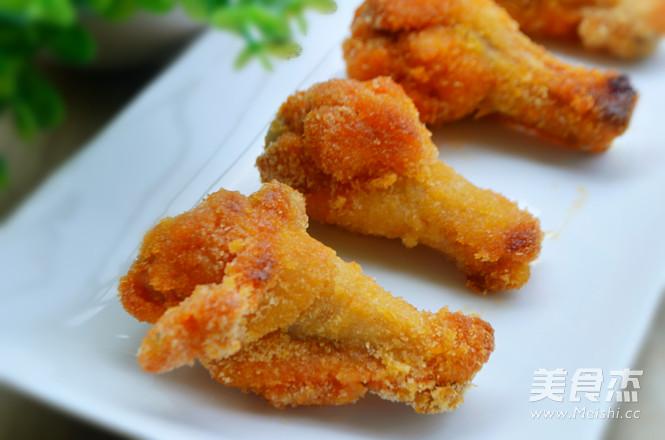 黄金烤鸡腿成品图