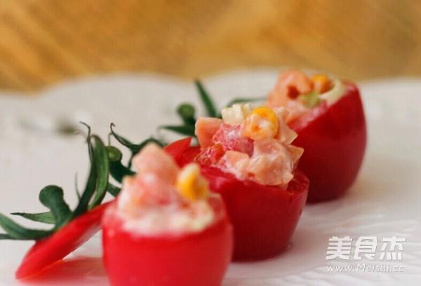 番茄沙拉盅成品圖