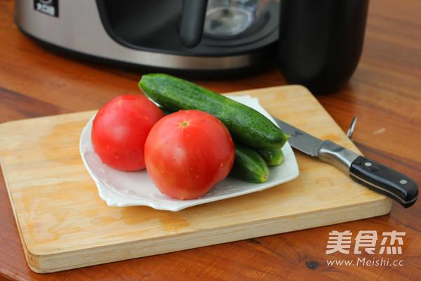 番茄小黄瓜汁的做法大全