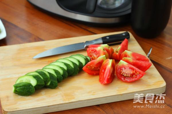 番茄小黄瓜汁的做法图解