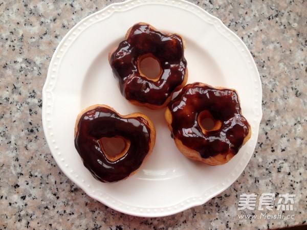 巧克力甜甜圈怎样煸