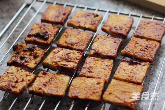酱烤煎豆腐怎么煸