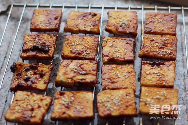 酱烤煎豆腐怎样煸