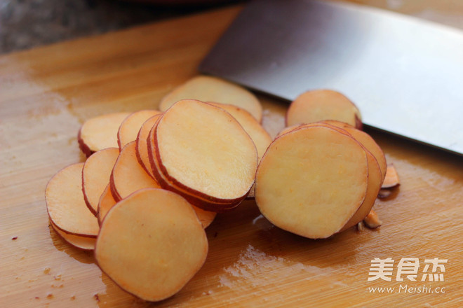 烤地瓜干的做法图解