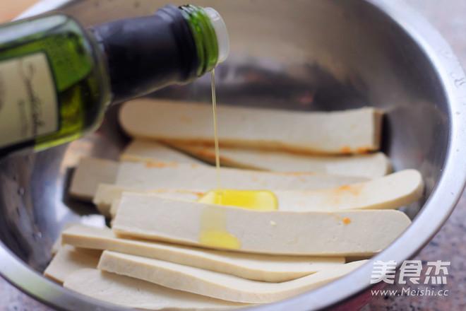 辣烤豆腐条怎么吃