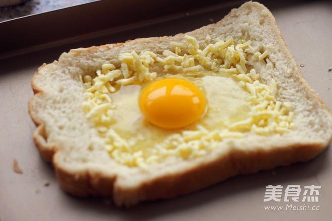 太阳蛋吐司的简单做法