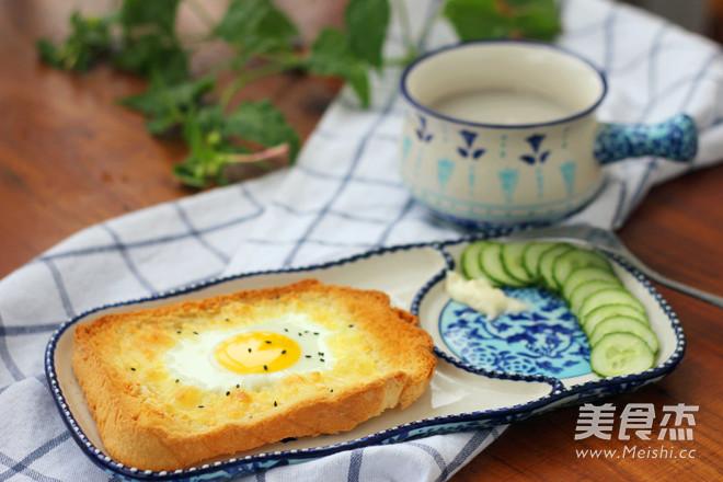 太阳蛋吐司怎么炒