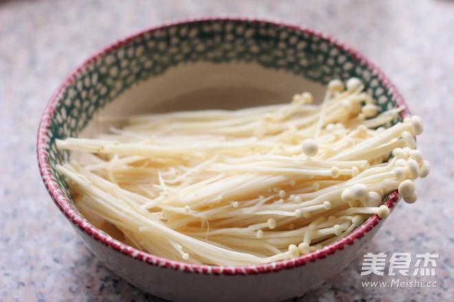 豆腐皮烤金针菇的做法大全