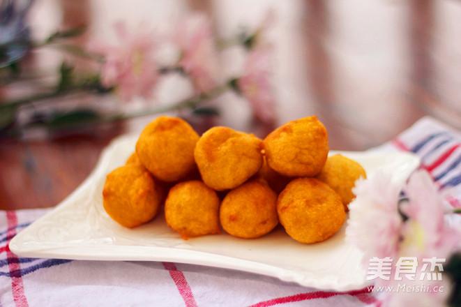 红薯丸子怎样炒
