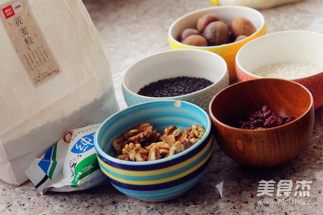 栗香黑米莜麦糕的做法大全