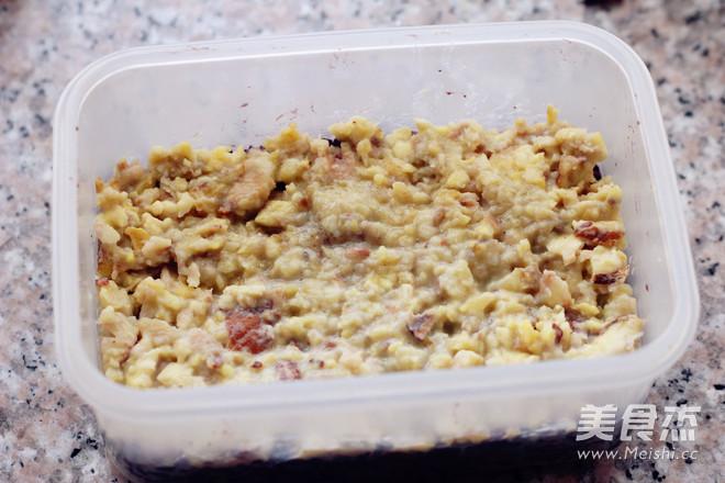 栗香黑米莜麦糕怎么炒