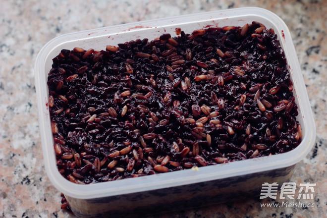 栗香黑米莜麦糕怎么煮
