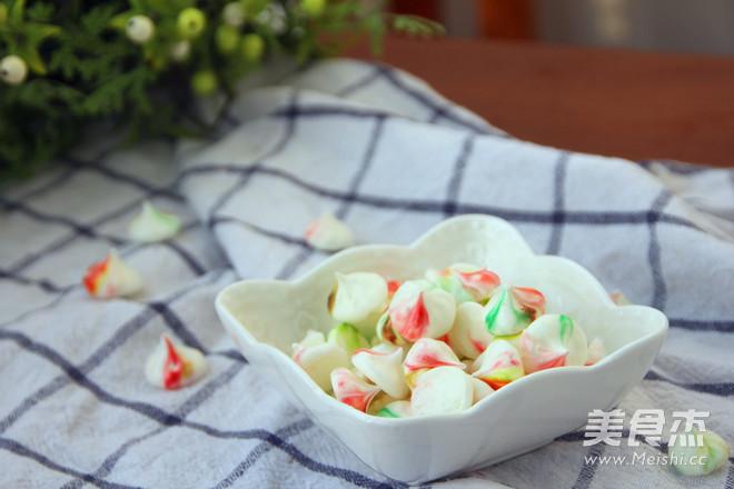 彩虹蛋白糖怎样做