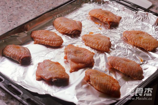 香辣烤翅的简单做法