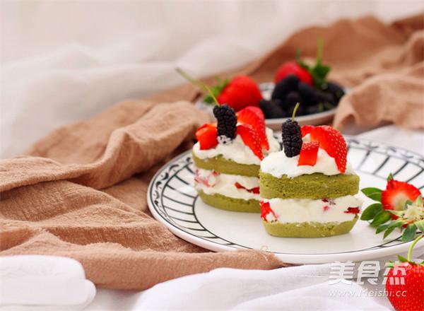 抹茶小蛋糕的制作