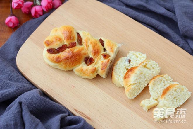 葡萄干辫子面包怎样煮