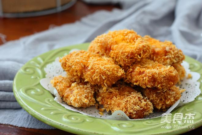 香甜玉米鸡块的制作