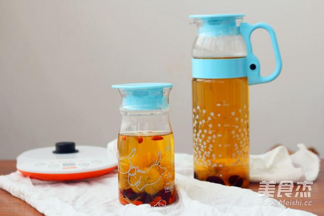 红枣枸杞养颜茶怎么炒
