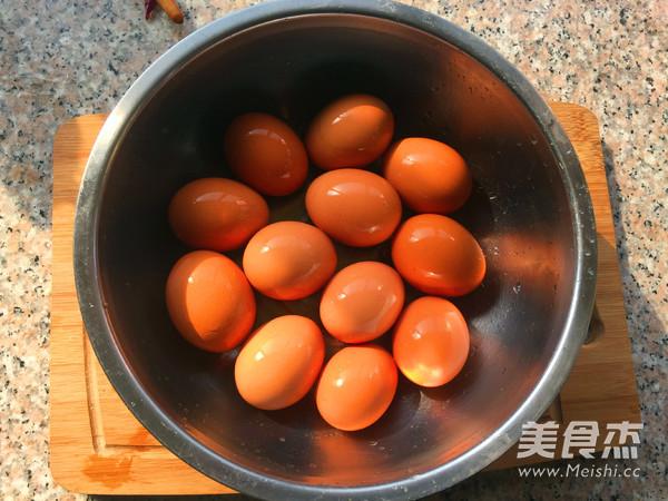 五香卤鸡蛋的步骤