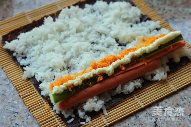 美味寿司卷怎么炒