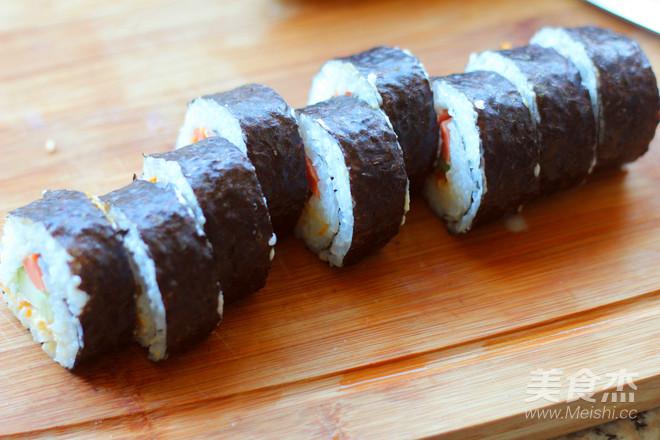 美味寿司卷怎么煸