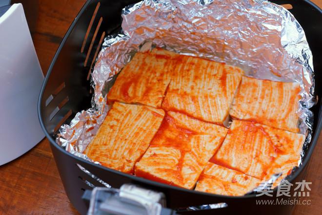 香辣烤豆腐的家常做法