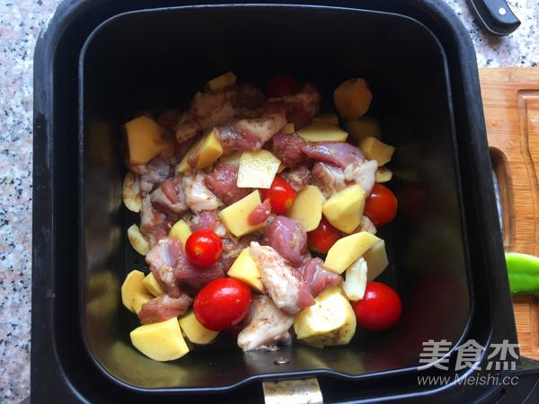土豆烤羊肉怎么炒