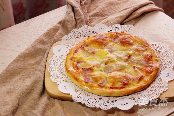 培根披萨的制作