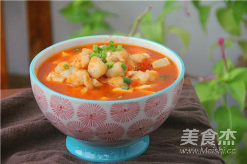龙利鱼炖豆腐的制作