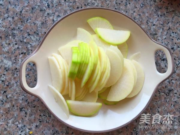 白萝卜豆腐汤的家常做法