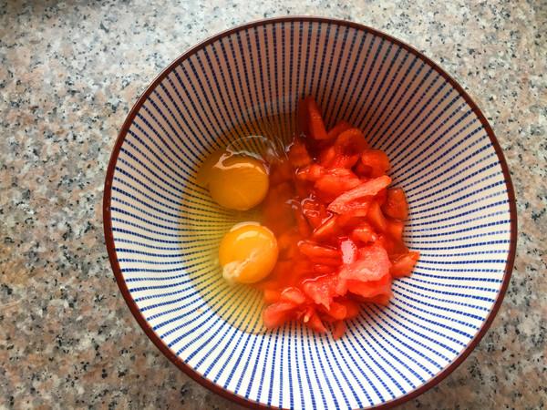 番茄鸡蛋饼怎么吃