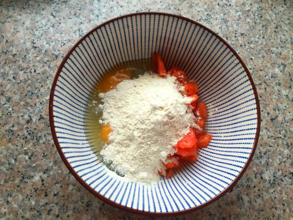 番茄鸡蛋饼怎么做
