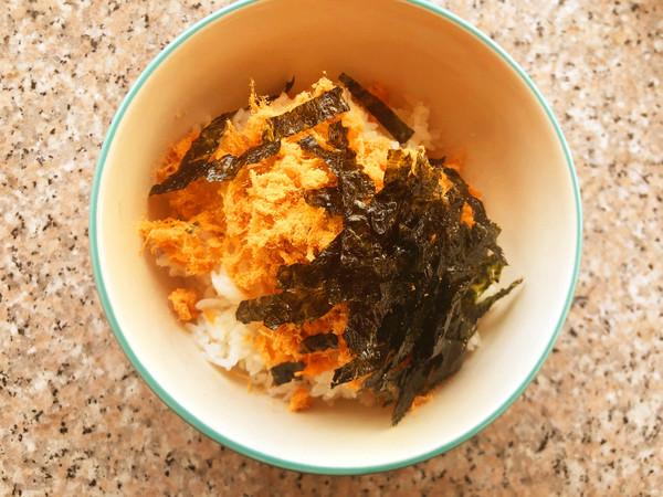 海苔饭团的简单做法